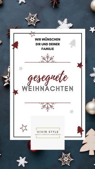Frohe Weihnachten wünschen wir Dir!