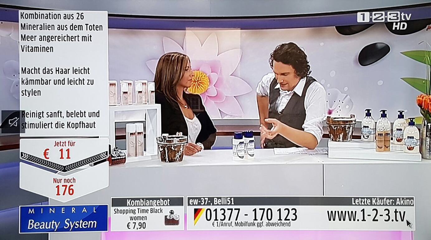 Moderation Beauty Expertin 123TV