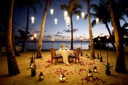 Honeymoon dinner