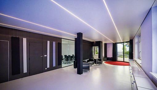 barrisol-clim-le plafond tendu Barrisol,suisse romande,vaud,bussigny,rénovation,morigi,timbettex,artolis,acoustic