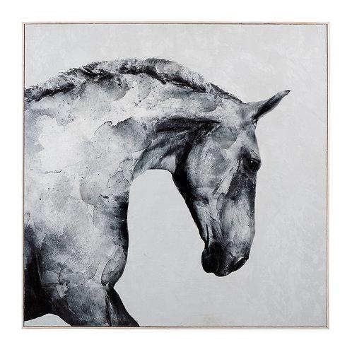 Stallion Framed Wall Decor