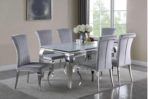 7 pieceModern dining set