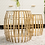 Thumbnail: Gold Cage Nesting Table Set