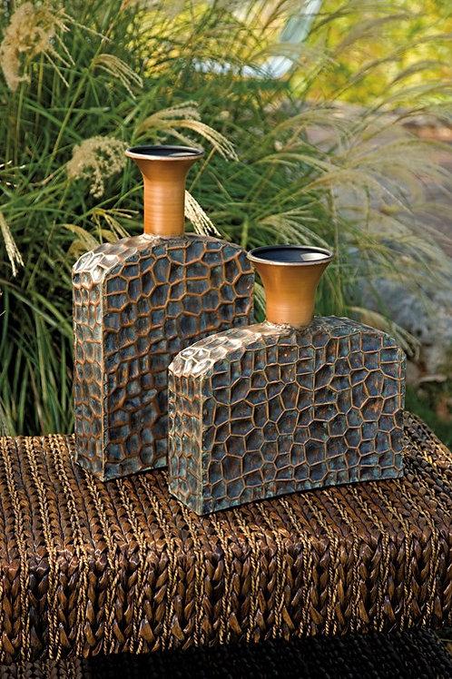 Liana Reptilian Angular Bottles - Set of 2