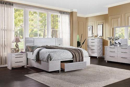 Aromas Queen Bed (Storage)