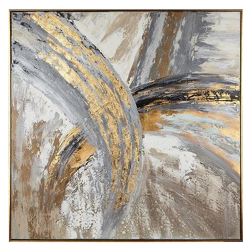 Castor Framed Oil Painting