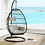Thumbnail: Patio Hanging Chair with Stand