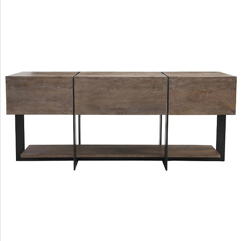 """Desmond Console Table 60"""" Taupe"""
