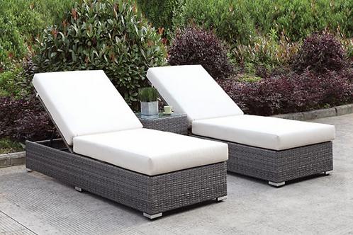 Somani   3pc Chaise Set