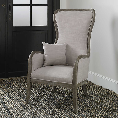 Chenin Accent Chair, Stone