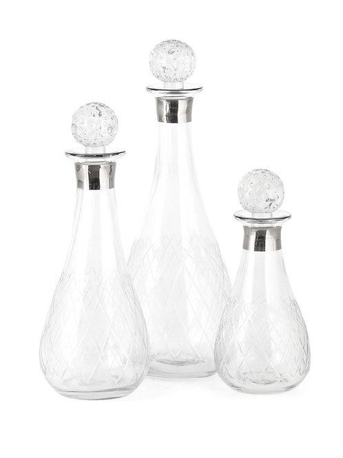 PGA TOUR Mulligan Glass Bottles - Set of 3