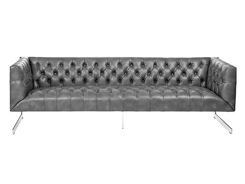 Viper Sofa - Stainless Steel - Cantina Magnetite