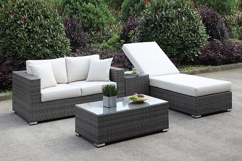 Somani   4pc Sofa & Chaise Set