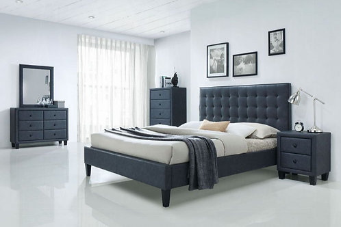 Saveria Eastern King Bed