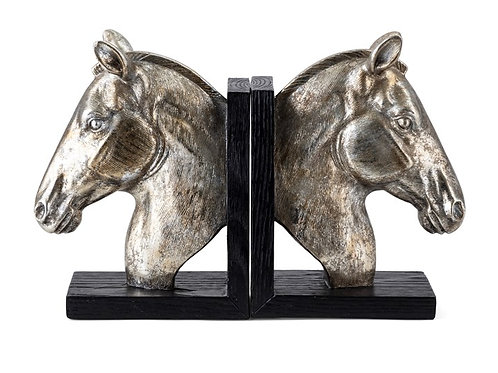 Capilet Horse Bookends