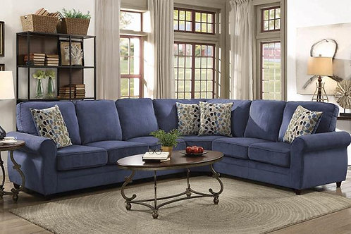 3pc Queen Sized Sleeper Sectional