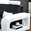 Thumbnail: 4pc Faux Leather Sectional Set - Left Sitting w LED