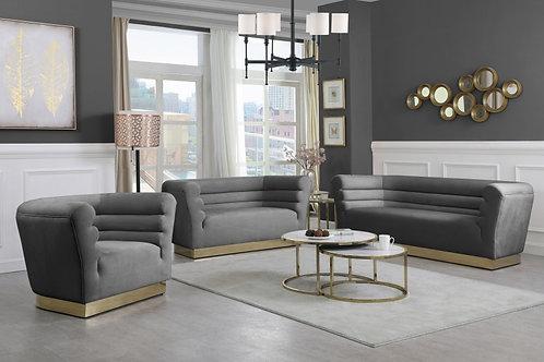 Santini Grey Velvet Collection