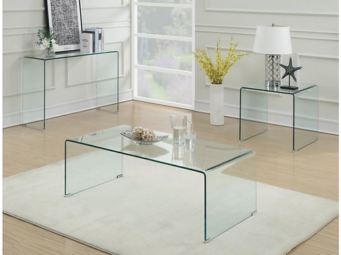 Clear Accent Coffee Table
