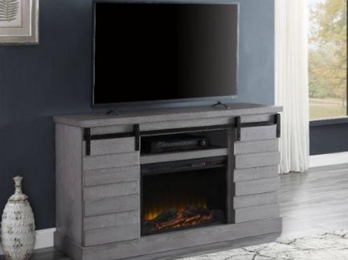 Amrita TV Stand w/Fireplace (LED)