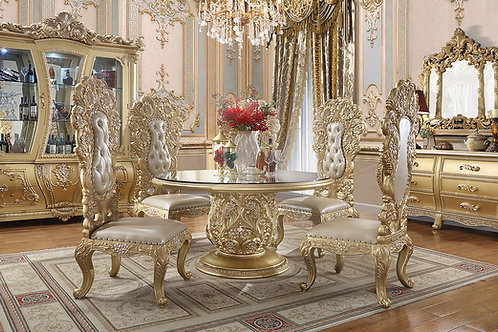 Sovereign 5pc Round Table Dining Set