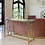 Thumbnail: GOLD METAL/GLASS CONSOLE TABLE, KD