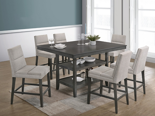 7pc Counter Height Dining Set