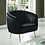 Thumbnail: Dionne Love Seat in Black