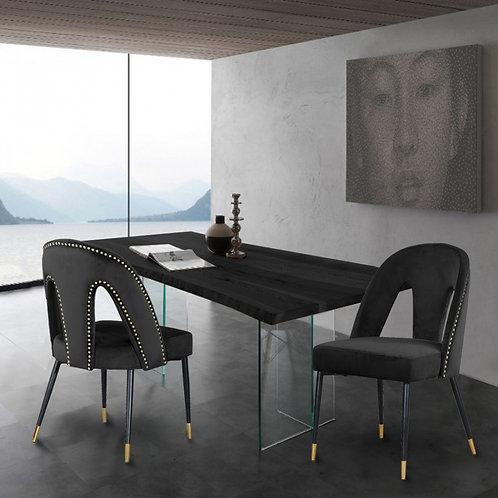 Akoya Velvet Dining Chair