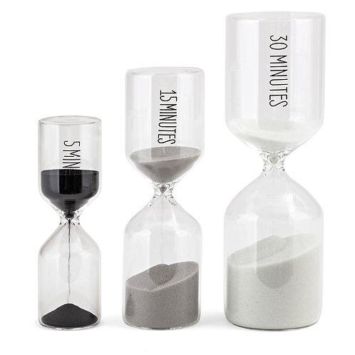 Irwin Hourglasses - Set of 3