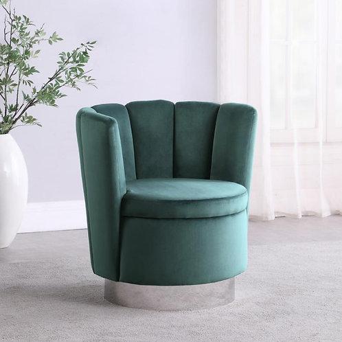 Dark Teal Swivel Chair