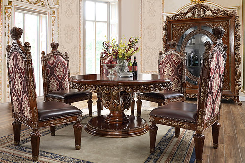 Princeton Round Table 5pc Dining Set
