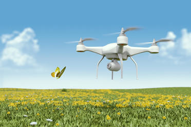 Buttefly Drone