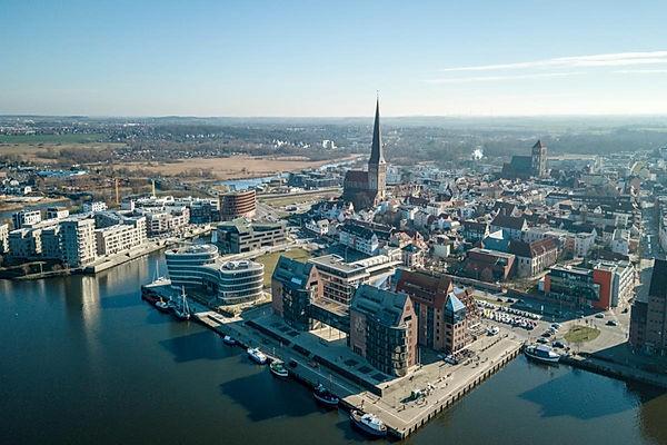 Rostock, Aida Cruises, Petrikirche
