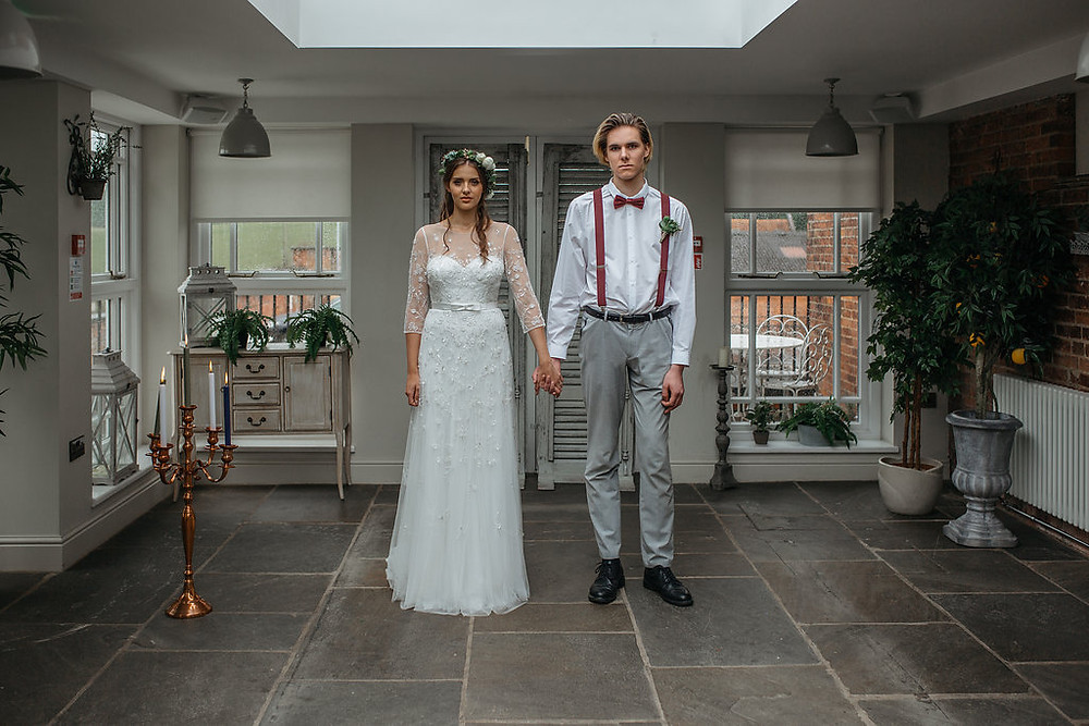 the kedleston derbyshire wedding venue orangery