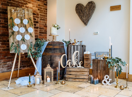 How to style a cake table of dreams!