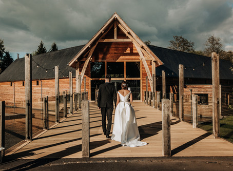 Stef & Ash: A Magical Harry Potter Wedding: The Mill Barns Wedding Venue