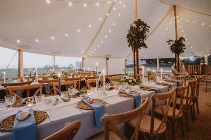 blue wedding ideas rustic theme