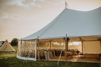 sami tipi sailcloth tent hire prices