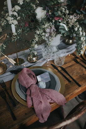 lilac wedding styling ideas