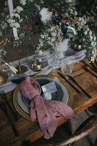 lilac wedding styling ideas