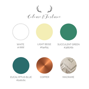 Boho Wedding Colour Palette