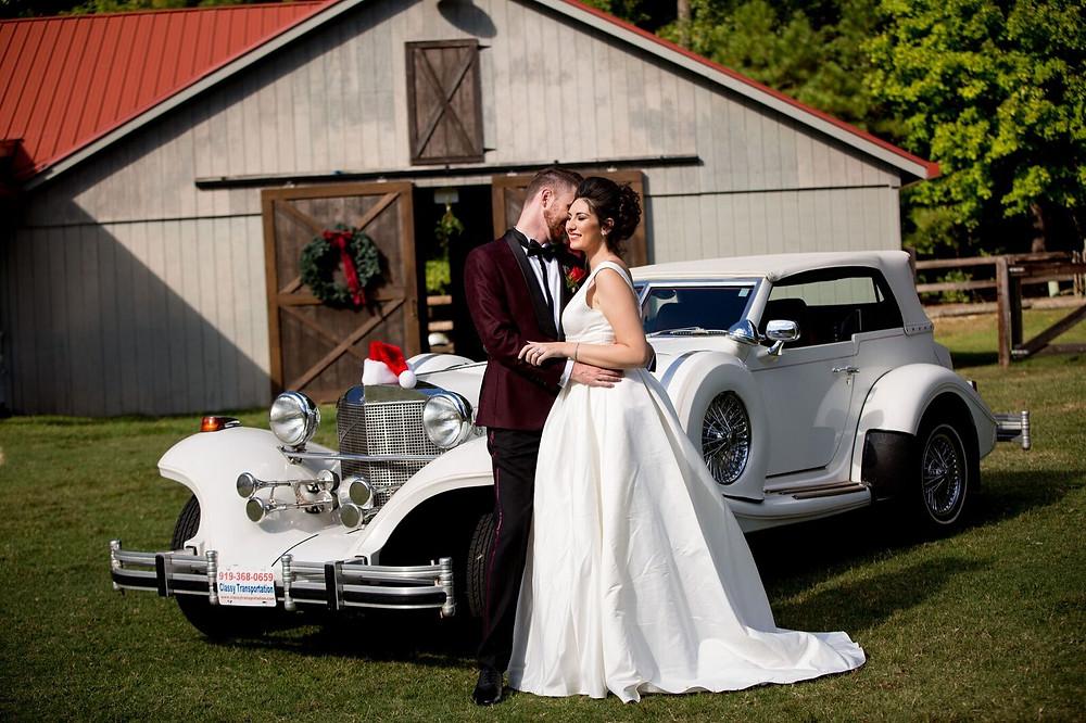 Rustic Barn Christmas Wedding