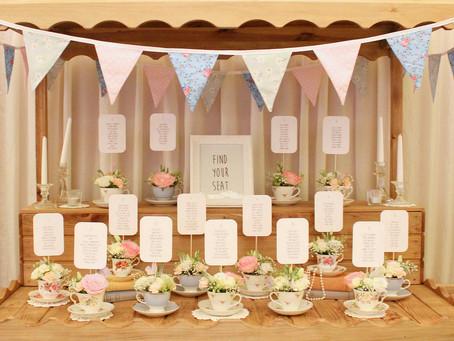 A Vintage Tea Cup Table Plan...