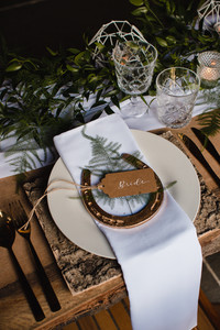 horseshoe wedding ideas