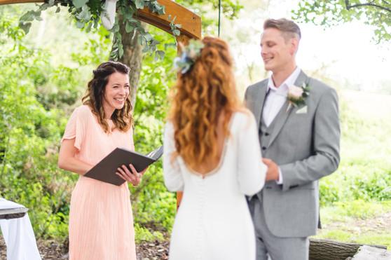 Hothorpe Hall Woodlands Wedding ceremony
