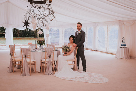 christmas marquee wedding ideas
