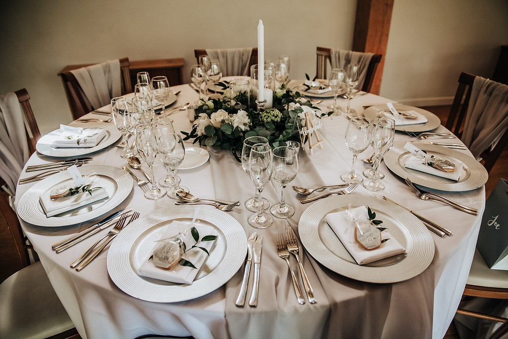 silver and grey wedding ideas