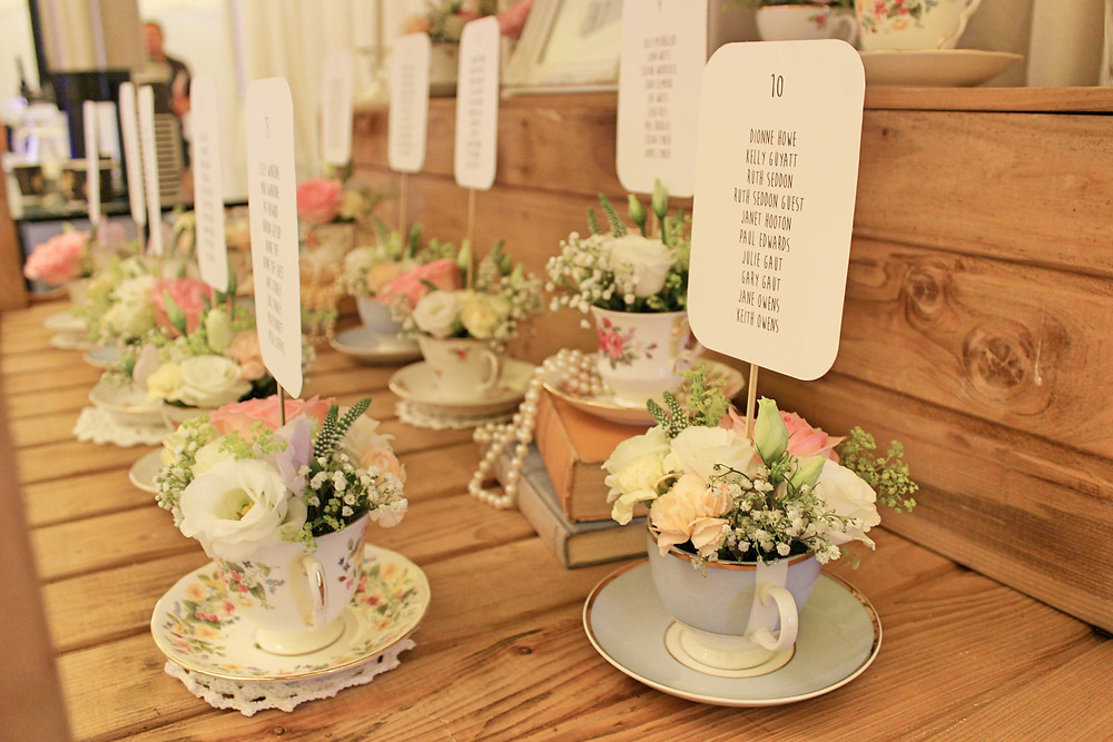 vintage wedding styling leicester
