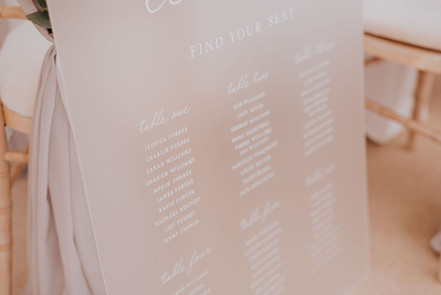 jenna claire stationery table plan